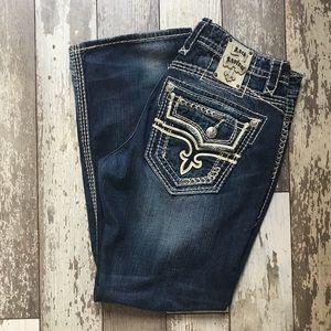 Rock Revival Byron Boot cut jeans Sz 36 x 32